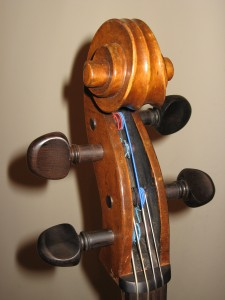 head of a fiddle